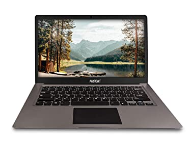 Fusion5 14.1inch A90B+ Pro 64GB Windows 10 Laptop - 4GB RAM, 64GB Storage, Full HD IPS, Bluetooth, 2MP Webcam, Dual Band WiFi Laptop