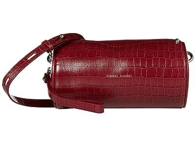 Rebecca Minkoff Barrel Crossbody (Pinot Noir) Handbags