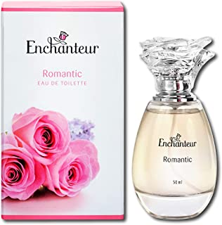 Enchanteur Romantic Eau de Toilette (EDT), Perfume for Women, 50ml