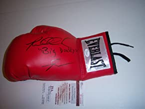 Riddick Bowe Big Daddy coa Signed Boxing Glove - JSA Certified - Autographed Boxing Gloves