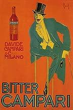 Vintage Posters Bitter Campari - Italian Liqueur Advertisement Poster Reproduction (24