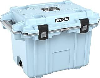Pelican Elite 50 Quart Cooler Light Blue
