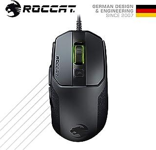 ROCCAT Kain 100 AIMO RGBゲーミングマウス(ProOptic R8,Titanクリック, 軽量 89g) ブラック (国内正規品) ドイツデザイン&エンジニアリング ROC-11-610-BK