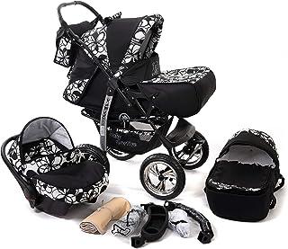 Baby Sportive - Passeggino 3 in 1 con seggiolino e accessori