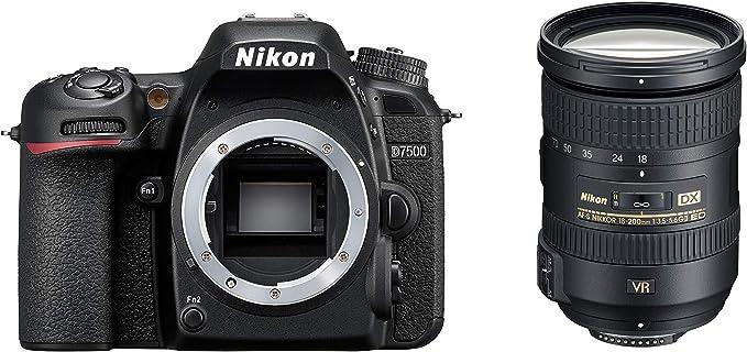 Nikon D7500 Digital Slr Im Dx Format Mit Nikon Af S Dx Kamera
