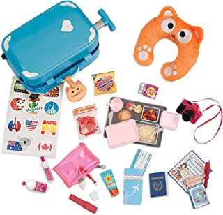 our generation home accessory well travelled luggage set