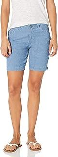 Women's Petite Regular Fit Chino Bermuda Short