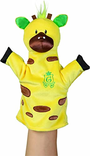 Giraffe Handpuppen