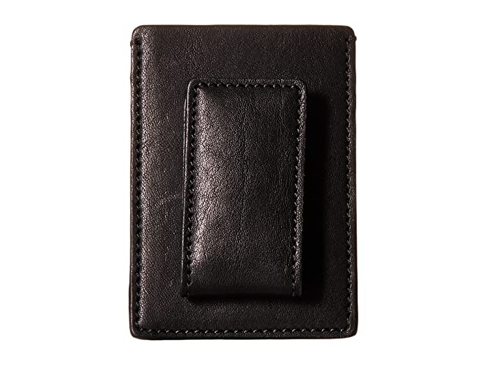 Bosca  Washed Collection - Deluxe Front Pocket Wallet (Black) Credit card Wallet