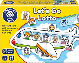Orchard Toys Lets Go Lotto Game, multi-colour