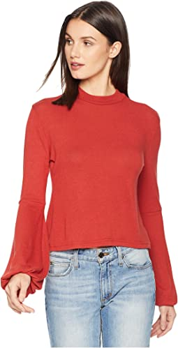 224900c63614bb Going Places Sweater Knit Mock Neck Top