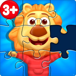 animals puzzle games for kids