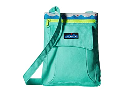KAVU Keeper (Mint) Cross Body Handbags