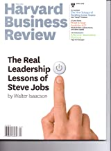 Harvard Business Review (April 2012 - The Real Leadership Lessons of Steve Jobs)