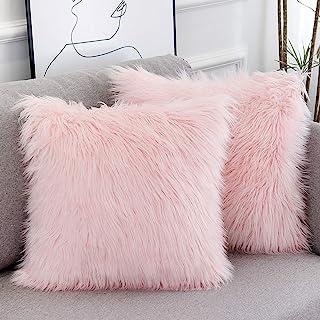 18/'/' Cushion Covers Rose Pink Throw Pillow Cases Sofa Home Garden Romantic Decor