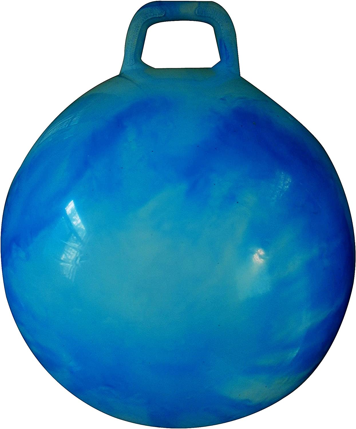 AppleRound Space Hopper Ball: 28in/70cm Diameter for Ages 13 and
