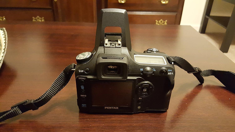 Pentax K110d Slr Digitalkamera Gehäuse Schwarz Kamera