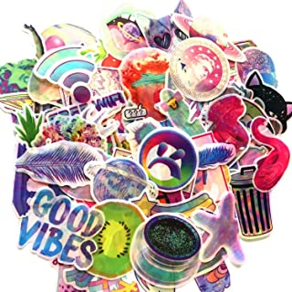 70Pcs 2019 The Best Cartoon Fantasy Colorful Sticker Dazzle Decal for Snowboard Luggage Car Fridge Car- Styling Laptop Stickers