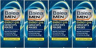 Balea Men Mask Energy Q10 - Men Mask with Hyaluronic Acid and Vitamin E, 2 x 16 ml, Germany