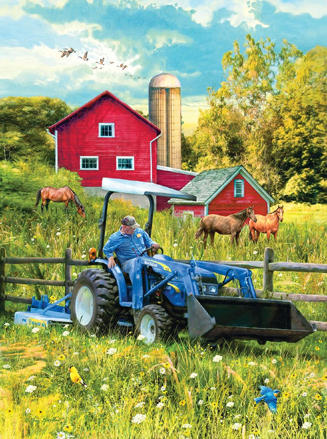 New Holland Out in the Field