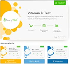 EverlyWell - at-Home Vitamin D Tests - Measure Your Personal Vitamin D Levels and Compare It to Healthy Ranges (Not Available in MD,NY, NJ, RI)
