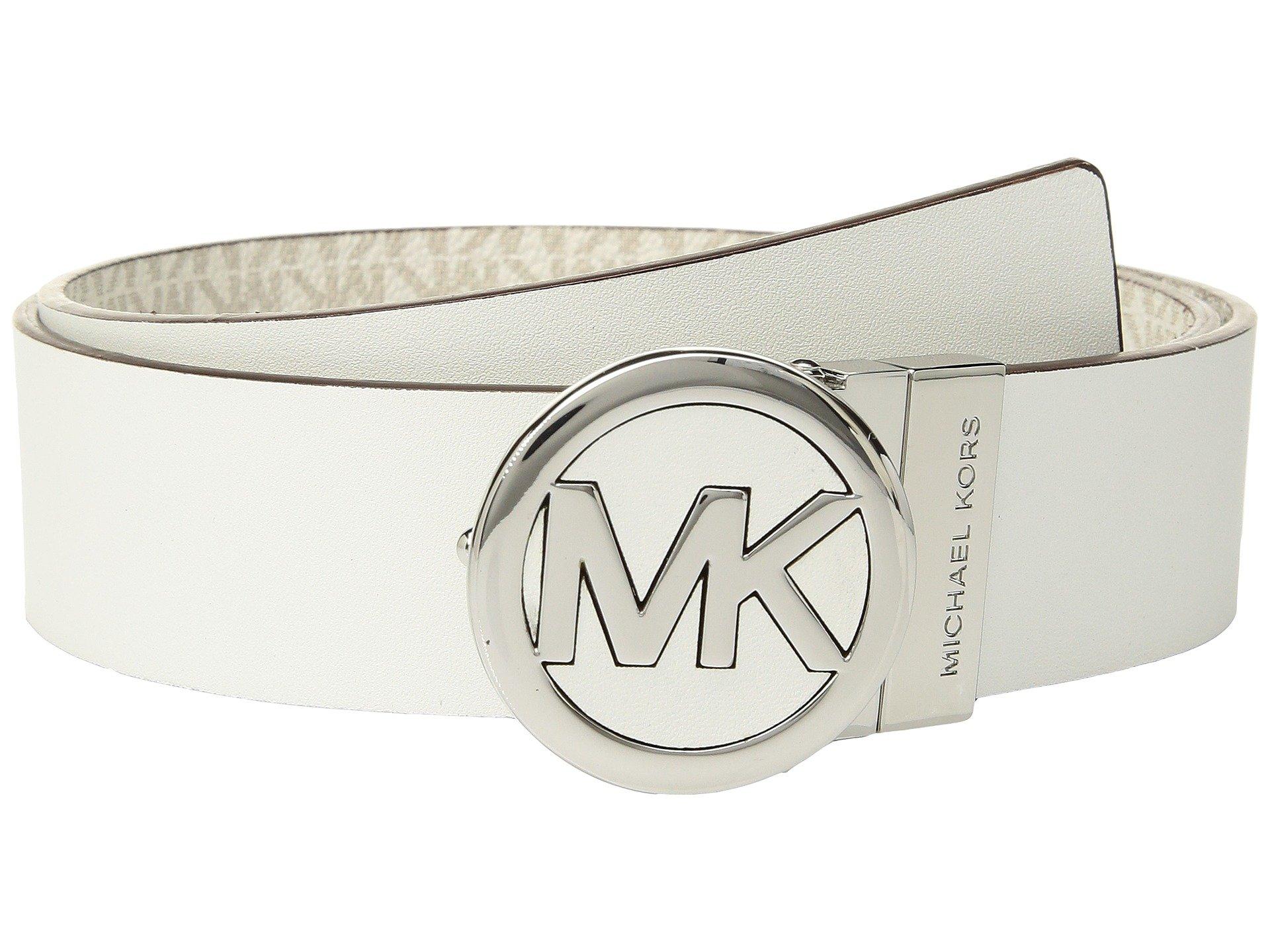 Correa o Cinturon para Mujer MICHAEL Michael Kors Smooth Leather Reversible Belt  + Michael Kors en VeoyCompro.net