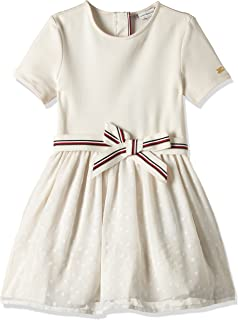 Tommy Hilfiger girls COMBI DRESS S/S Dress