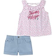 Tommy Hilfiger Baby Girls 2 Pieces Shorts Set