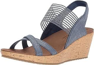 Skechers Women's Beverlee-High Tea Wedge Sandal