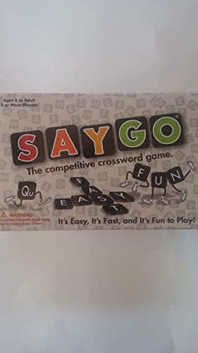 SAYGO The Competitive Crossword Game