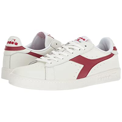 Diadora Game L Low (White/Chili Peppers/White) Men