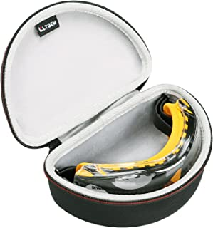 LTGEM for DEWALT DPG82-11/DPG82-21 Goggle Case, Tailored Hard Storage Carrying Bag with Hand Strap and Strong Zipper