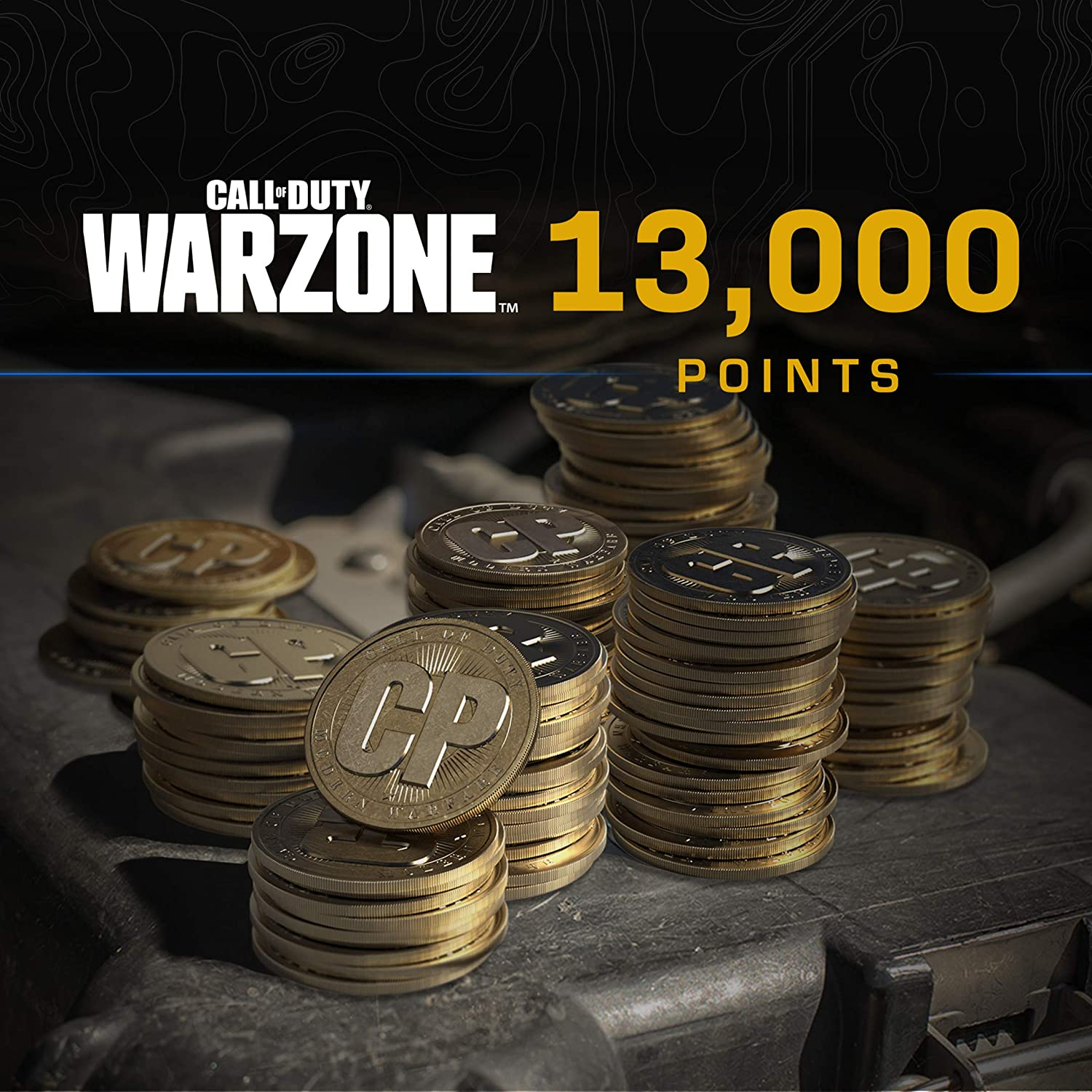 Call of Duty: Warzone - 13 000 PS4 PS5 COD Digital Points free shipping - famous