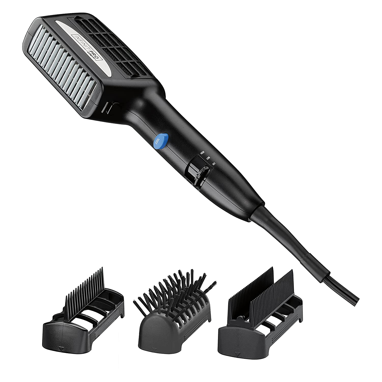INFINITIPRO BY CONAIR 1875 Watt 3-in-1 Ceramic Styler with 3 Attachments : Everything Else