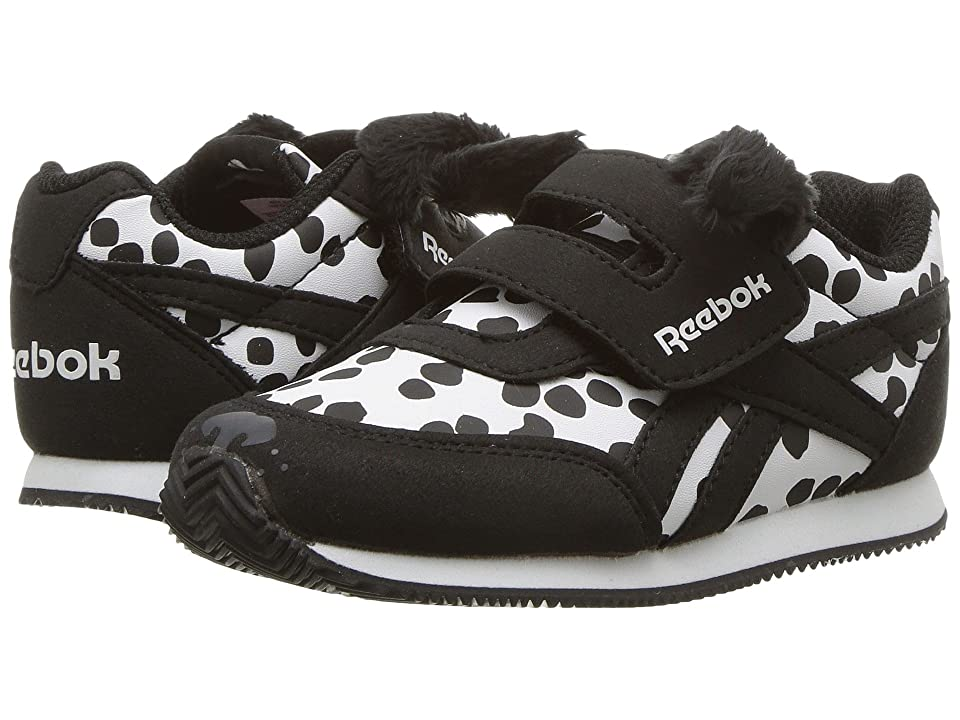 Reebok Kids Royal CL Jogger 2 KC (Toddler) (Dalmatian/White/Black) Girls Shoes
