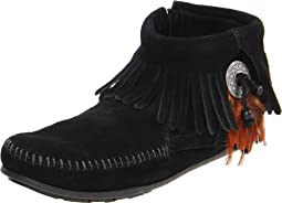 Concho/Feather Side Zip Boot