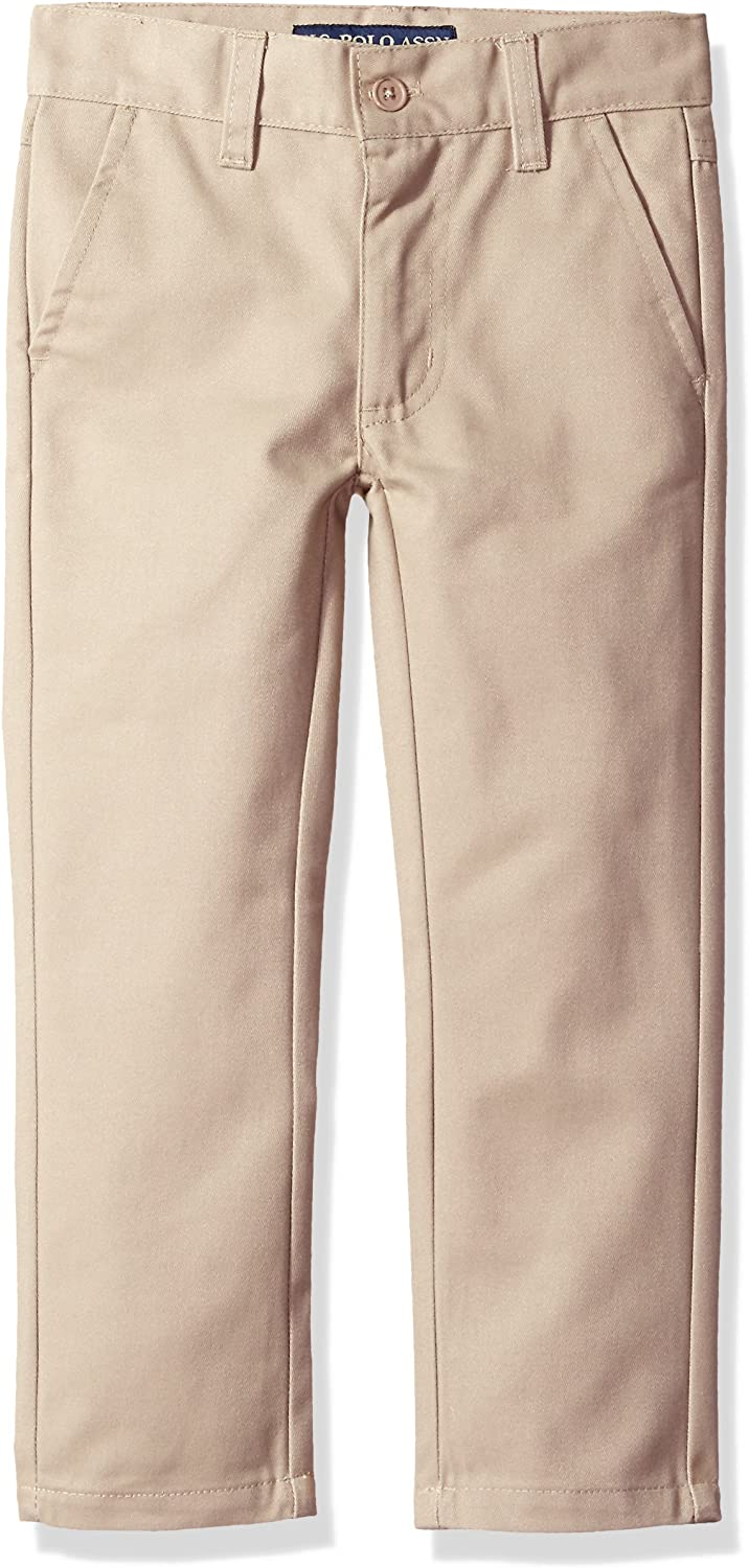 U.S. Polo Assn. Boys' Big Twill Pant (More Styles Available)
