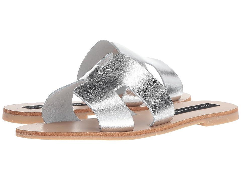Steven Greece Sandal (Silver Leather) Women