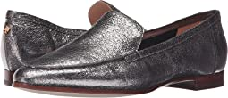 Anthracite Crackled Metallic Nappa