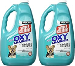 Simple Solution (2 Pack) Oxy Charged Stain and Odor Remover (1 Gallon Per Bottle)