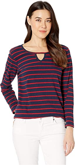 Red/Navy Blue Stripes
