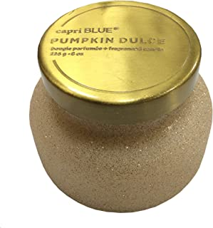 Capri Blue Pumpkin Dulce 8Oz Petite Jar Candle