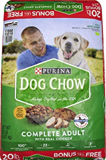 Purina Complete Dog Chow, 20 lb