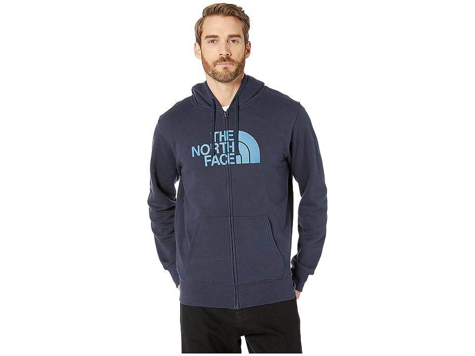 The North Face Half Dome Full Zip Hoodie (Urban Navy/Storm Blue) Men