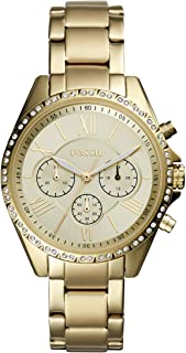 Fossil Casual Watch For Women Analog Stainless Steel - BQ3378