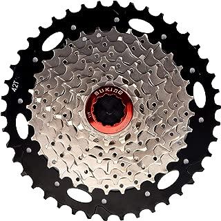 CYSKY 8 Speed Cassette 8Speed 11-42 Cassette Fit for Mountain Bike, Road Bicycle, MTB, BMX, Sram Sunrace Shimano ultegra xt (Light Weight)