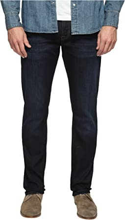 Marcus Regular Rise Slim Straight Leg in Rinse Brushed Williamsburg