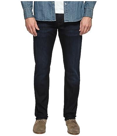 Mavi Jeans Marcus Regular Rise Slim Straight Leg in Rinse Brushed Williamsburg (Rinse Brushed Williamsburg) Men
