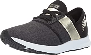 New Balance Women's Nergize V1 FuelCore Cross Trainer, Black/Gold, 5.5 D US