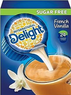 International Delight Sugar Free Mini I.D.'s Coffee Creamer French Vanilla, 24 Count